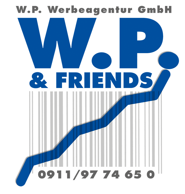 W.P. & FRIENDS Logo